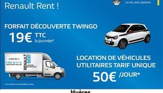 Location Renault rent - Hyères