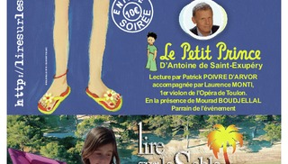 Lecture du Petit Prince par Patrick Poivre d'Arvor  (Copie) - Hyères